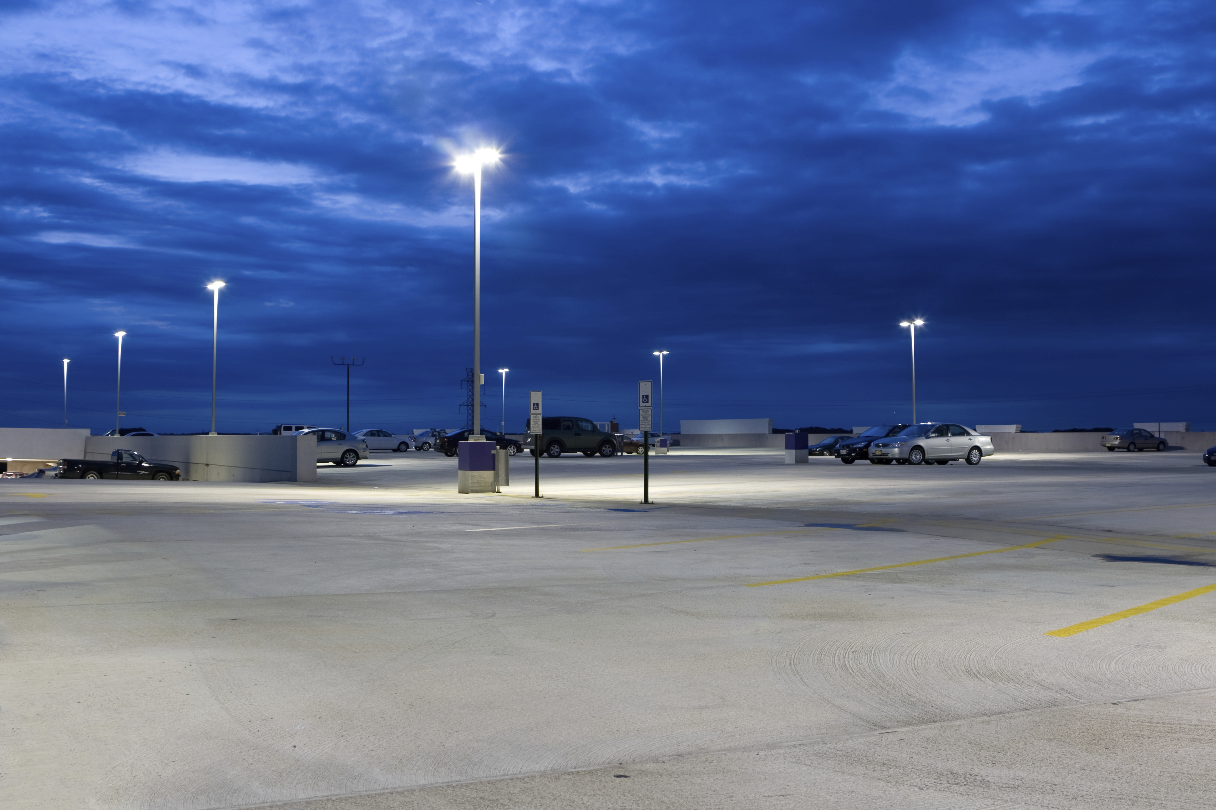 solutions pointe think gallery lighting induction media green picture south dsc lot light toyota parking